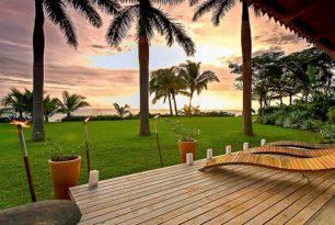 Les jardins du Pacifique                          sous le vent…